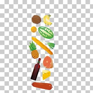 Supermarket Grocery Store Shopping Cart Illustration PNG