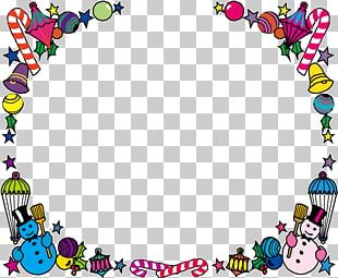 Border Template Winter PNG