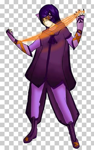 Illustration Costume Purple Legendary Creature PNG