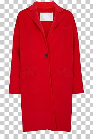 Overcoat Fake Fur Fireplace Mantel Red PNG