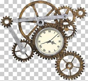 Clock Face Gear Movement PNG