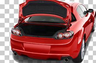 2009 Mazda RX-8 Sports Car Bumper PNG
