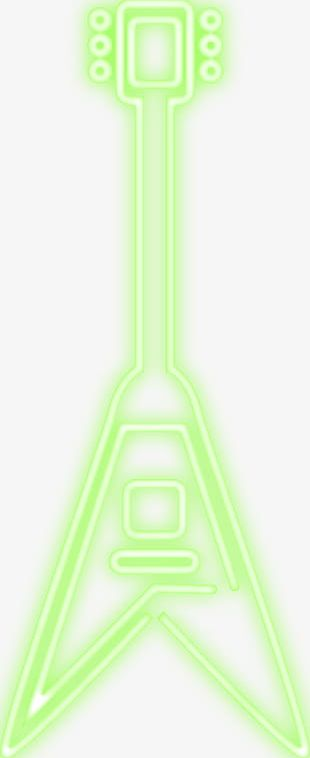 Neon Bass Music PNG