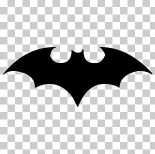 Batman Logo Drawing Bat-Signal Stencil PNG
