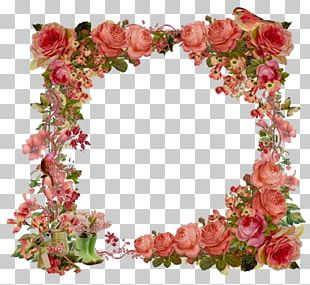 Flower Frames Vintage Clothing Shabby Chic PNG