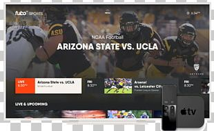 FuboTV Streaming Media Television Sling TV Over-the-top Media Services PNG