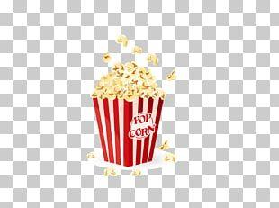 Popcorn Cinema Film PNG