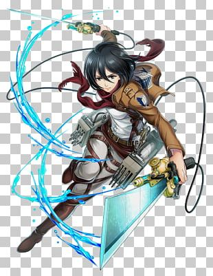 Mikasa Ackerman Eren Yeager Attack On Titan White Cat Project Character PNG