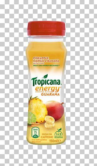 Orange Juice Tropicana Products Vegetarian Cuisine Banana PNG