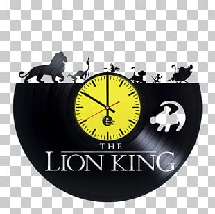 Alarm Clocks The Lion King Logo Book PNG
