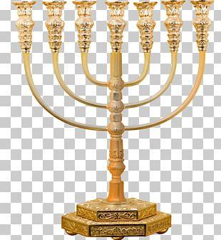 Menorah Judaism Hanukkah Jewish Holiday Candle PNG