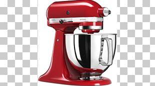Mixer Food Processor KitchenAid Artisan 5KSM125 Blender PNG