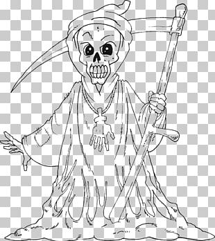 Coloring Book Death Colouring Pages Adult Child PNG