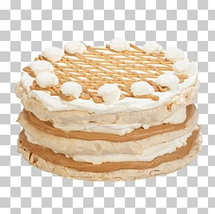 Banoffee Pie Torte Cream Pie Bakery PNG