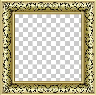 Frames Gold Ornament Decorative Arts PNG