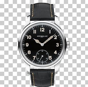 Montblanc Watch Movement Chronograph Luxury Goods PNG