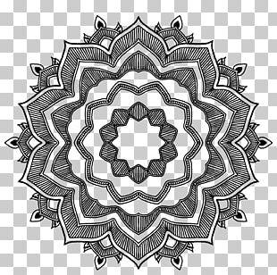 Mandala Sacred Geometry Symbol PNG