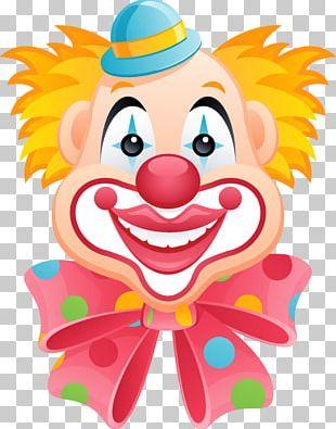 Clown Circus Cartoon PNG