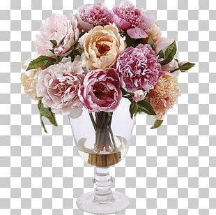 Cut Flowers Garden Roses Flower Bouquet PNG