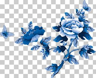 Flower Chinese Painting PNG