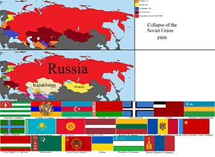 Russian Soviet Federative Socialist Republic United States Dissolution Of The Soviet Union Republics Of The Soviet Union Post-Soviet States PNG