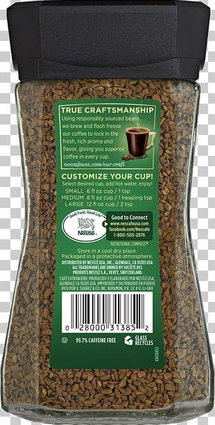 Instant Coffee Nescafé Decaffeination Cortado PNG
