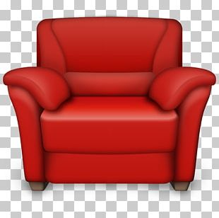 Wing Chair Table Swivel Chair Recliner PNG