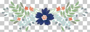 Cut Flowers Floral Design Watercolor Painting PNG