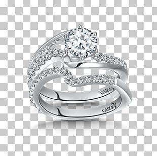 Wedding Ring Silver Gold Platinum PNG