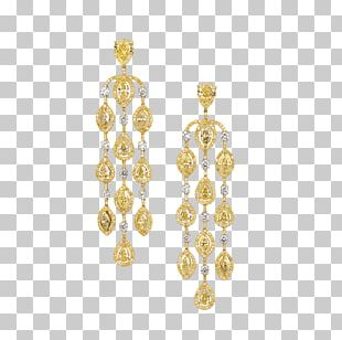 Earring Jewellery Necklace Bead Gold PNG