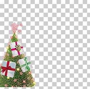 Christmas Tree Gift Christmas Ornament PNG