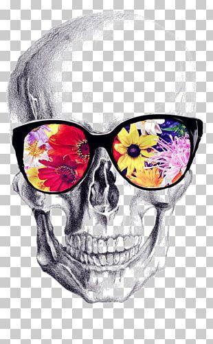 Calavera Skull Art Drawing PNG