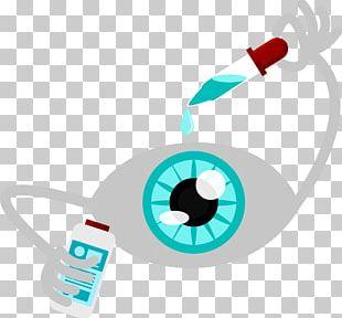 Eye Drop Eye Drop Cartoon PNG