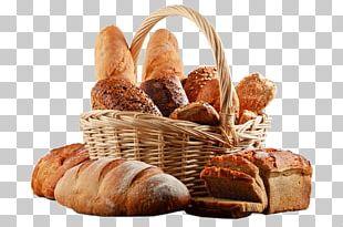 Basket Of Bread Breakfast PNG