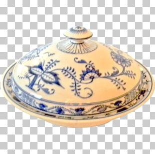 Blue Onion Pottery Ceramic Villeroy & Boch Mettlach PNG