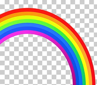 Rainbow ROYGBIV Color PNG