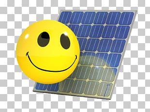 Solar Panel Photovoltaics Solar Power Smiley Solar Energy PNG