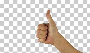Thumb Signal Arm PNG