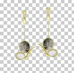 Earring Silver Gemstone Jewellery Gold PNG