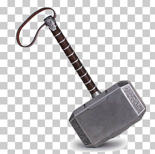 Thor Captain America Mjolnir Collector Theatrical Property PNG
