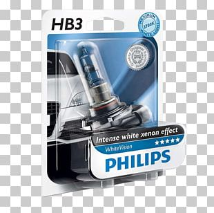 Incandescent Light Bulb Philips White Headlamp PNG