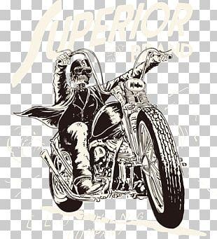 Motorcycle T-shirt PNG