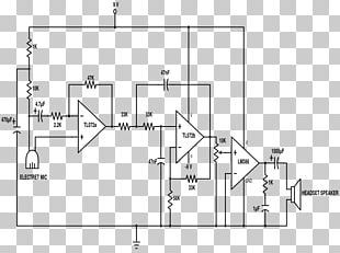 Circuit Diagram Stethoscope Electronic Circuit Schematic PNG