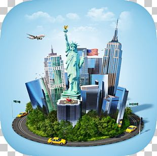 Statue Of Liberty Air Travel Stock Photography PNG