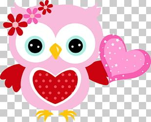 Owl Babies Valentine's Day PNG