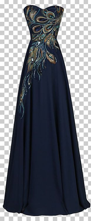 Wedding Dress Evening Gown Prom PNG