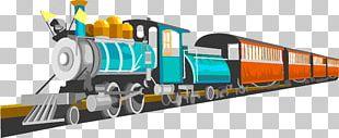 Train Comics Cartoon PNG