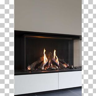 Hearth Heat Fireplace Chimney Gas PNG