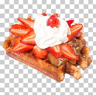Belgian Waffle Frosting & Icing Ice Cream Dulce De Leche PNG