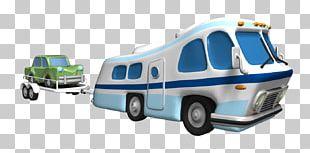 Car Campervans Trailer Motorhome PNG